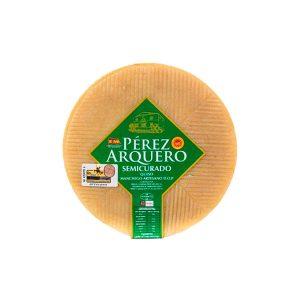 queso manchego semicurado perez arquero